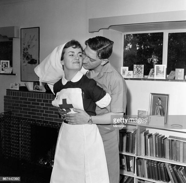Mrs Rita Hudis with her husband Norman Hudis who wrote the script for the film 'Carry on Nurse' 31st December 1959
