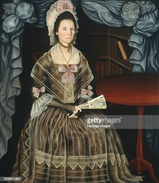 Mrs. Samuel Chandler, circa 1780. Artist Winthrop Chandler. .