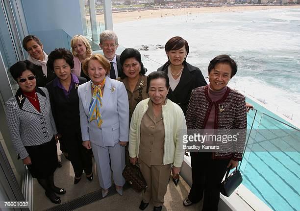 Mrs Selina Tsang of China Mrs Margarita Zavala of Mexico Mrs Jeanne Abdullah of Malaysia Mrs Laureen Harper of Canada Mrs Janette Howard of Australia...