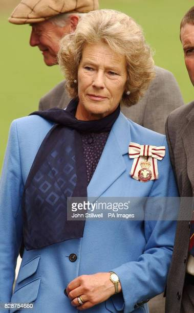 Mrs Shan LeggeBourke the mother of Tiggy LeggeBourke the former nanny of Prince's William and Harry in the grounds of her Glanusk Park home just...