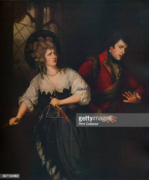 Mrs Siddons and J P Kemble in the Dagger Scene from Macbeth' 1786 Welsh actress Sarah Siddons and her brother John Philip Kemble in a pefromance of...