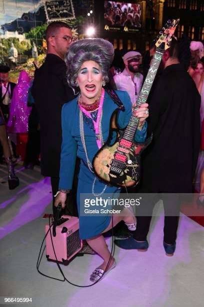 Mrs Smith during the Life Ball 2018 at City Hall on June 2 2018 in Vienna Austria The Life Ball an annual charity event raising funds for HIV AIDS...