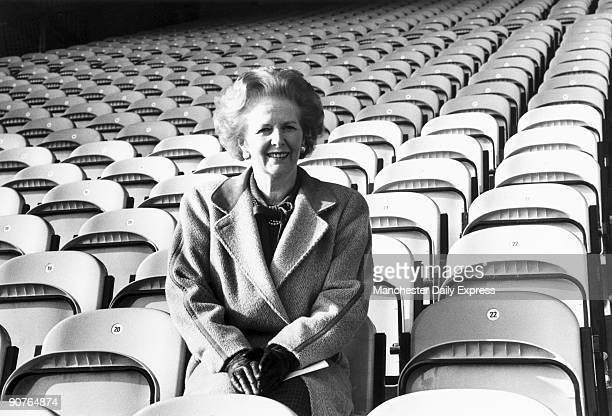 �Mrs Thatcher tries out the seats in the new stand at Bradford FC� Margaret Hilda Thatcher studied chemistry at Oxford University and worked as a...