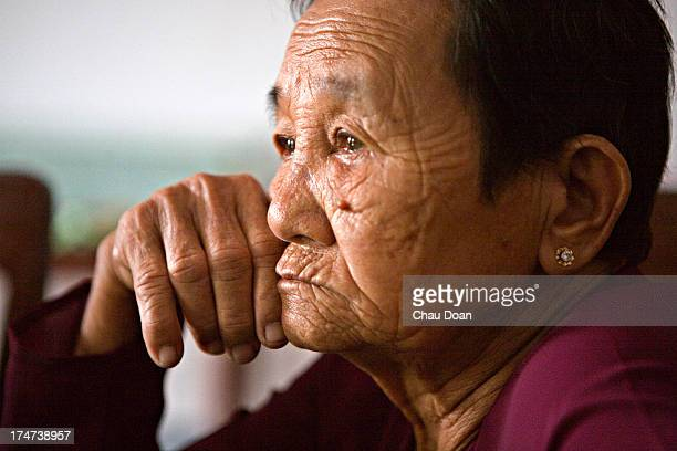 Mrs Truong Thi Le is a survivor of the My Lai massacre at the Thuan Yen ditch Her mother a daughter and a son were killed in the massacre of 504...