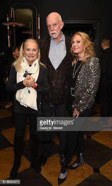 Mrs Ulla Dreyfus Richard Armstrong and Tiqui Atencio attend the launch of new book Could Have Would Have Should Have Inside The World Of The Art...