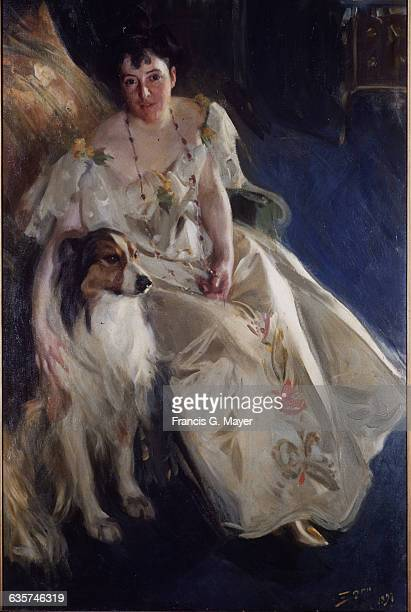 Mrs Walter Rathbone Bacon by Anders Leonard Zorn
