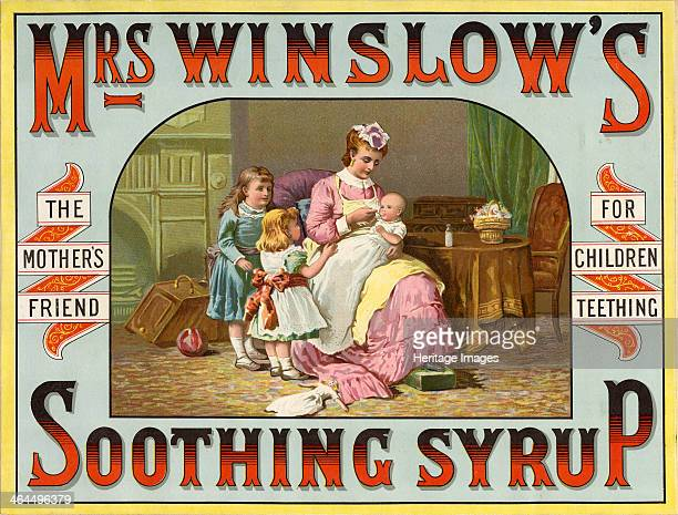 Mrs Winslows Soothing Syrup The Mother's Friend For Children Teething c18801900