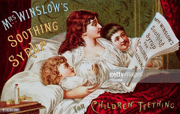 Mrs Winslow's Soothing Syrup Trade Card