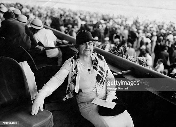 Mrs Woodrow Wilson wife of the immortal war president was a distinguished visitor to the races at enchanting beautiful Hialeah Park and the guest of...