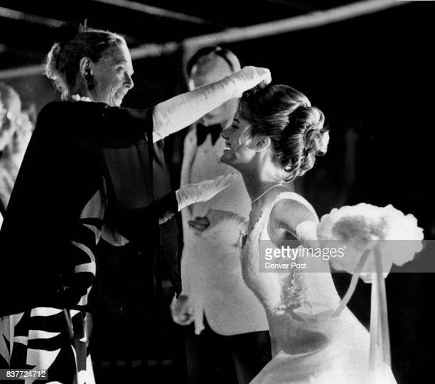 Mrs WS Bing Law Crowns Miss Robin Kendall Lee Mrs Law was chairman of Le Bal de Ballet which introduced 30 debutantes Credit Denver Post