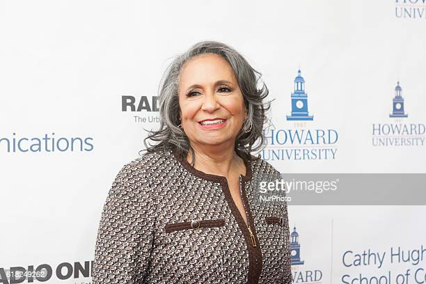 Ms Cathy Hughes In the Blackburn Center Ballroom on the campus of Howard University in Washington DC USA on 25 October 2016 Ms Cathy Hughes Founder...