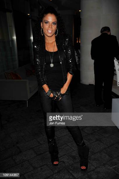 Ms Dynamite attends The BRIT Awards 2011 Warchild after party at Indigo at the O2 Arena on February 15 2011 in London England