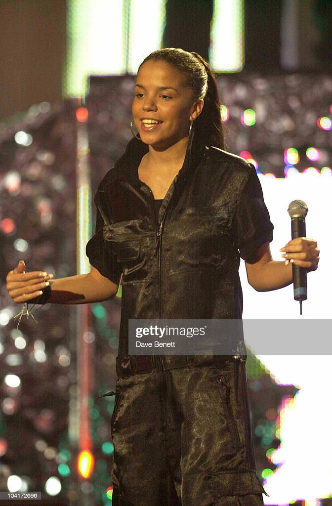 Ms Dynamite, Rehearsals For The Brit Awards 2003, At Earl's Court, London