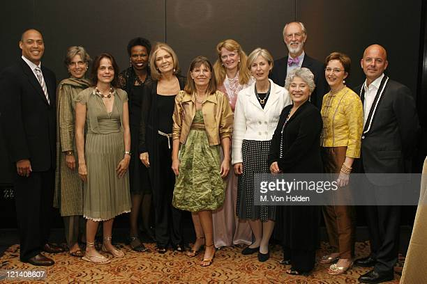 Ms Foundation for Women Board during Ms Foundation for Women's 18th Annual Gloria Awards at Mandarin Hotel in New York NY United States