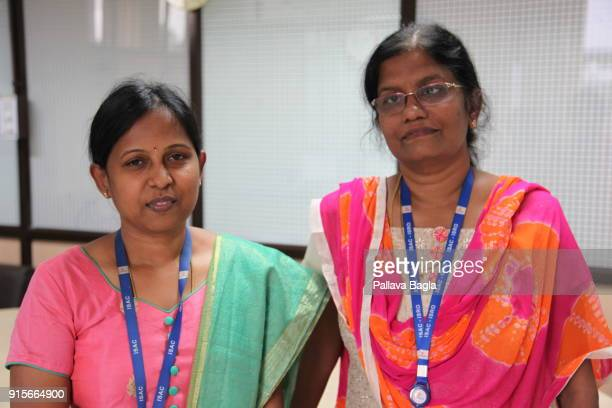 Ms K Kalpana Assitant Project Director of the Chandrayaan2 project with Mrs M Vanitha head of the Chandrayaan2 project The Indian Space Research...