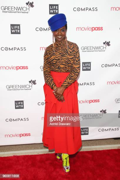 Ms Lauryn Hill attends the Opening Night Party for the 2018 Greenwich International Film Festival at the Boys and Girls Club of Greenwich on June 1...