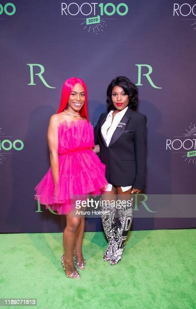 Ms Milan and Olivia Dope attend 2019 ROOT 100 Gala at The Angel Orensanz Foundation on November 21 2019 in New York City