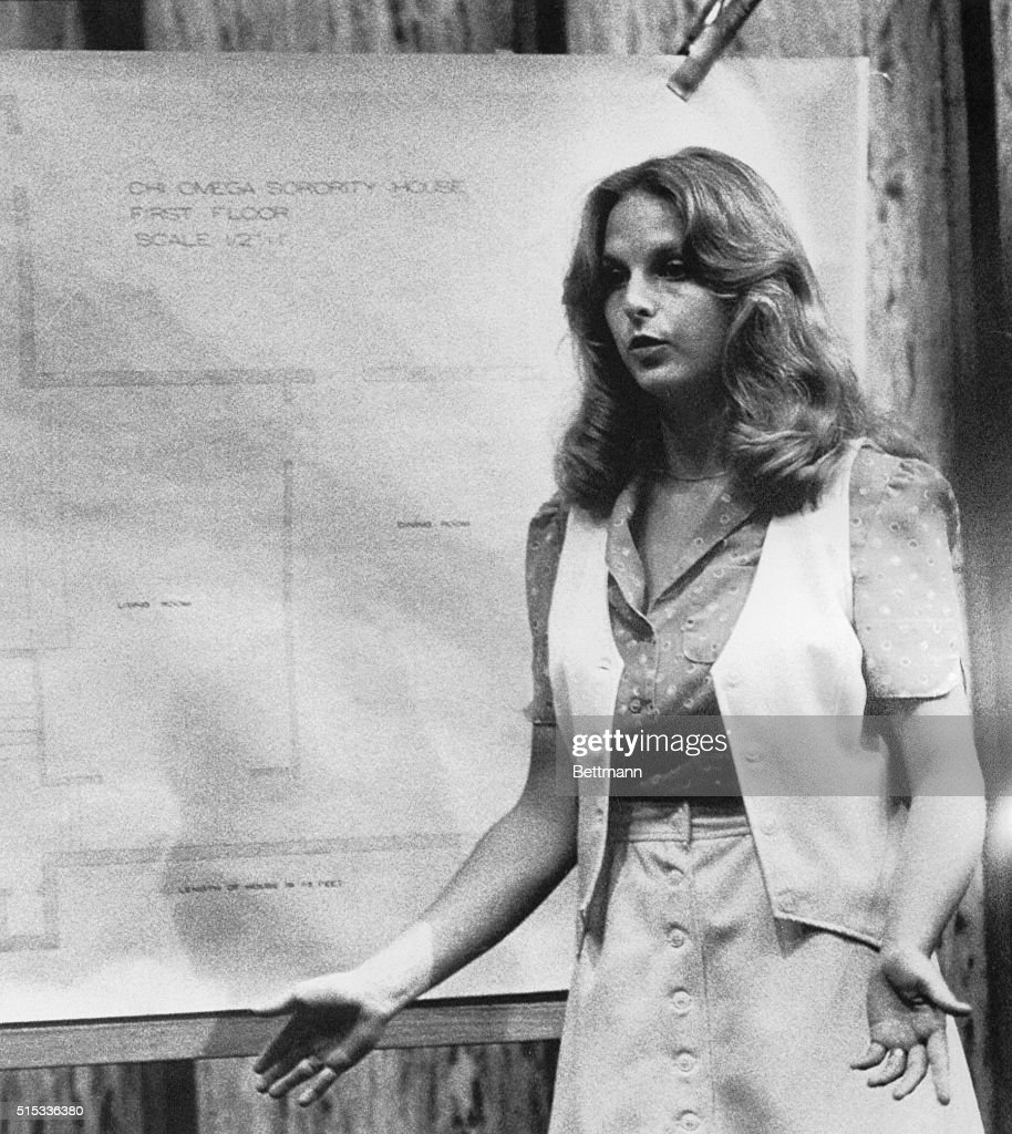 Nita Jane Neary Testifying at Ted Bundy Trial : Nachrichtenfoto