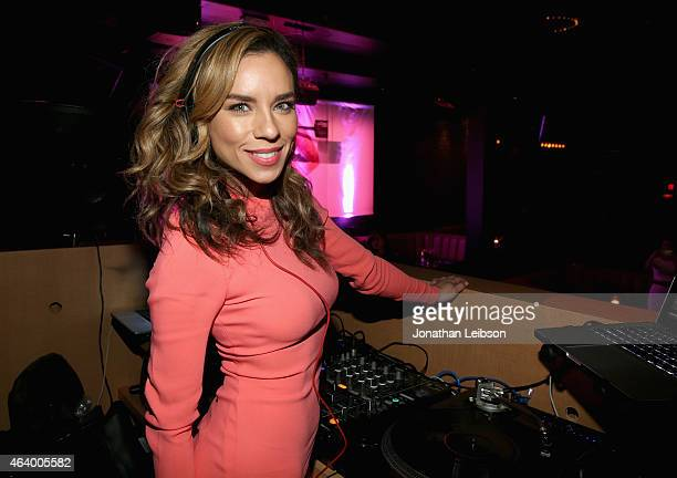 Ms Nix attends VANITY FAIR and L'Oreal Paris DJ Night hosted by Freida Pinto to benefit Girl Rising at 1OAK on February 20 2015 in Los Angeles...