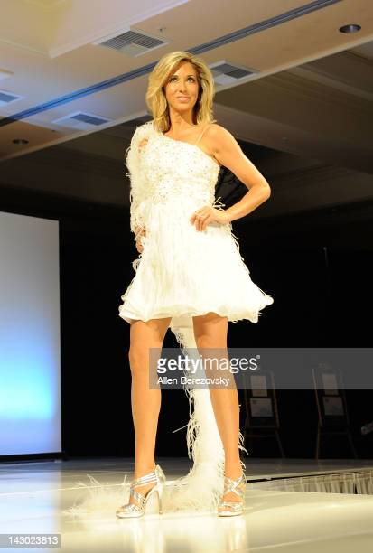 Ms Oklahoma Carla Gonzalez competes in the Ms America Pageant at the DoubleTree Suites on April 15 2012 in Anaheim California