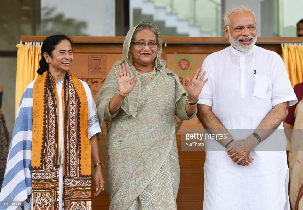 Prime Minister of Bangladesh Visit India : News Photo