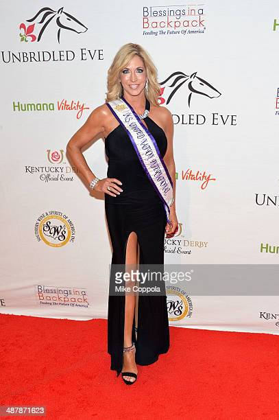 Ms United Nation 201314 Carla Gonzalez attends the 2014 Unbridled Eve Derby Gala during the 140th Kentucky Derby at Galt House Hotel Suites on May 2...