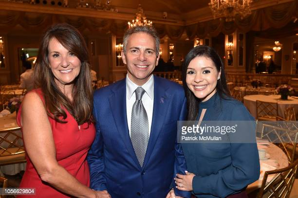 Ms Weinmann David Weinreb and Diana Parra attend Alzheimer's Drug Discovery Foundation's Ninth Annual Fall Symposium Luncheon at the Pierre Hotel on...