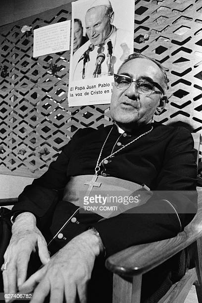 Msgr Oscar Arnulfo Romero Archbishop of San Salvador advocat for the poor and for victims of the country's civil war He was killed on March 24 1980...