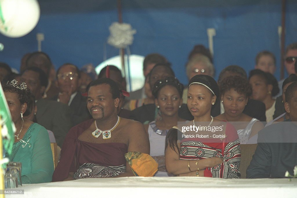 WEDDING OF KING LETSIE III : News Photo