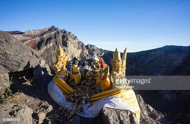 Mt Agung summit, Hindu Shrine