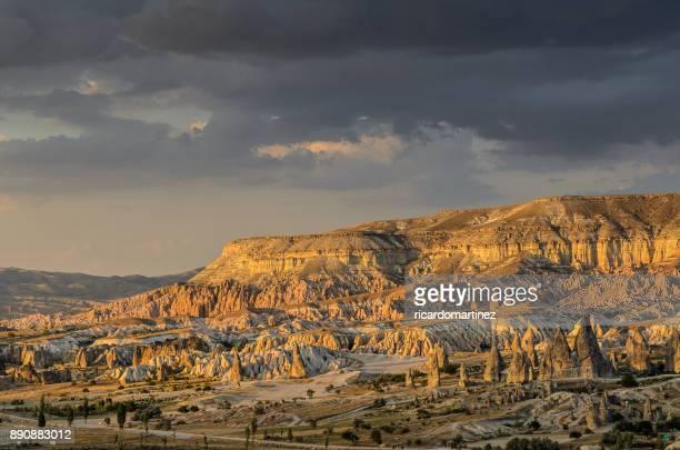mt aktepe near goreme, cappadocia, turkey - anatolia stock pictures, royalty-free photos & images
