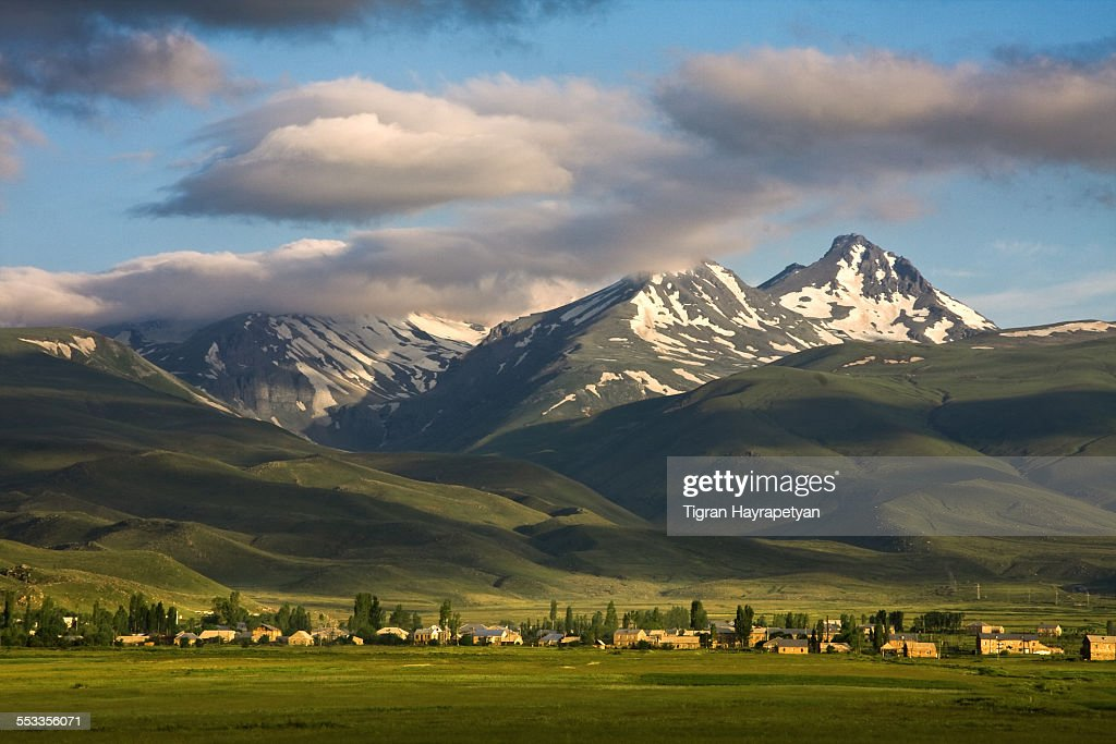 Image result for Landscape view of Armenia's Mt. Aragats in spring. (Tigran Hayrapetyan / Getty Images)