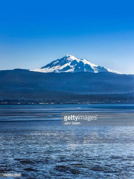 Mt Baker across Bellingham Bay