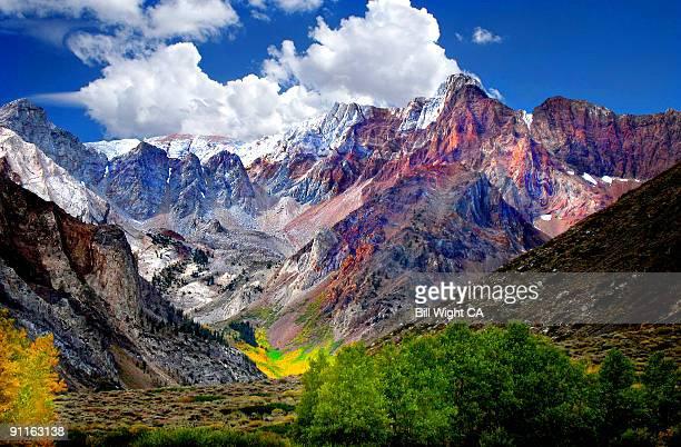 Mt Baldwin McGee Canyon Fall Color