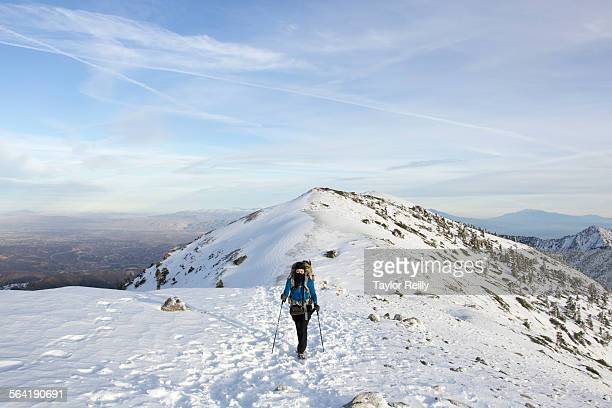 mt baldy aka mt san antonio - mount baldy stock photos and pictures