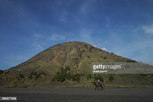 mt. batok - shaifulzamri stock pictures, royalty-free photos & images