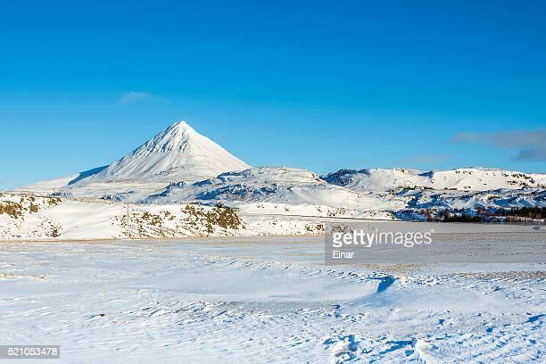 Mt. Baula in Borgarfjordur Iceland
