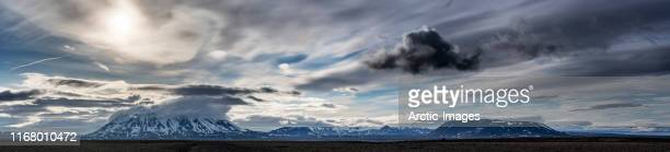 mt. blafell on the kjolur road, central highlands, iceland - extreme terrain stock pictures, royalty-free photos & images