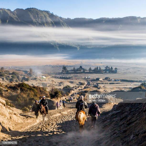 mt bromo - half way up or half way down. - {{asset.href}} imagens e fotografias de stock