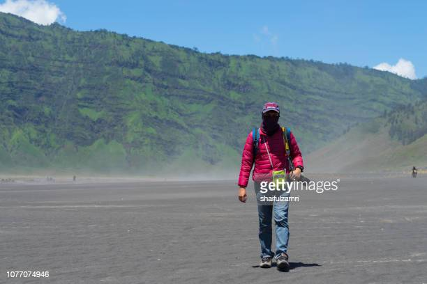 mt. bromo in indonesia - well known for landscape beauty and active volcanoes. - shaifulzamri stock pictures, royalty-free photos & images