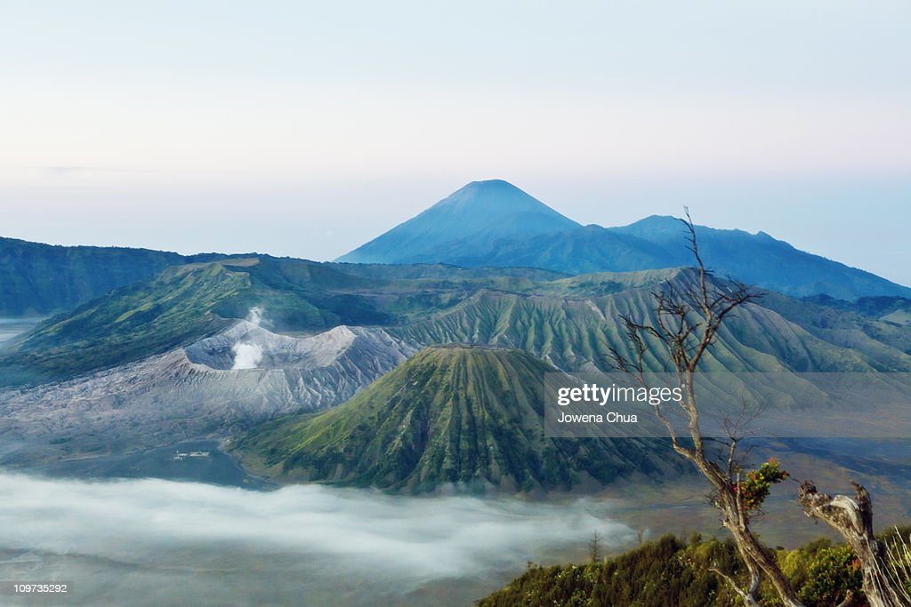 Mt. Bromo Volcano : Stock Photo
