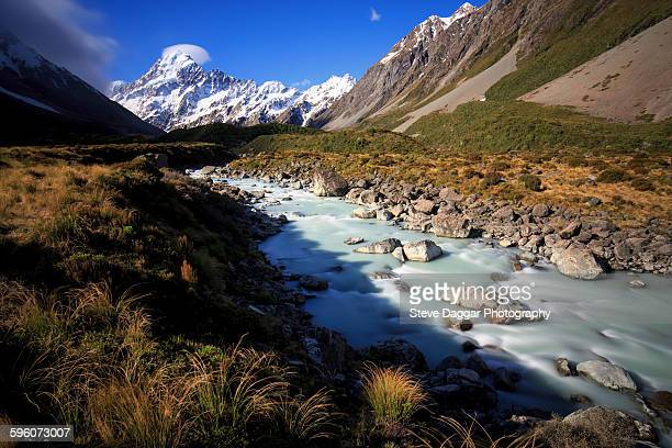 Mt Cook and stream