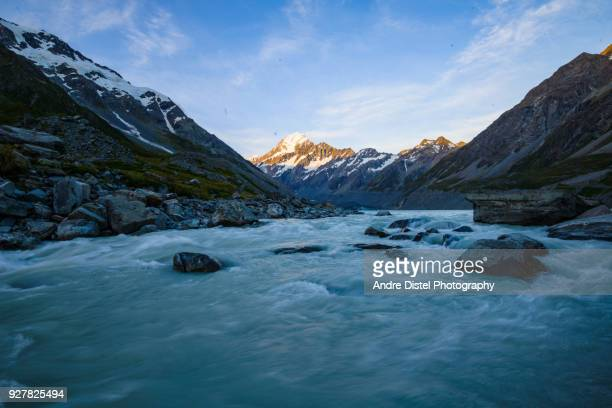 mt cook national park - new zealand - artistic product stock pictures, royalty-free photos & images