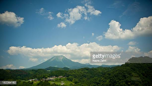 mt. daisen - tottori prefecture stock photos and pictures