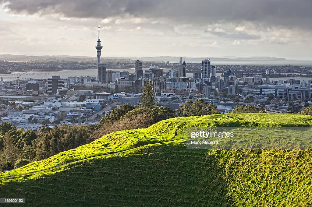 Mt Eden Sunburst : Stock Photo