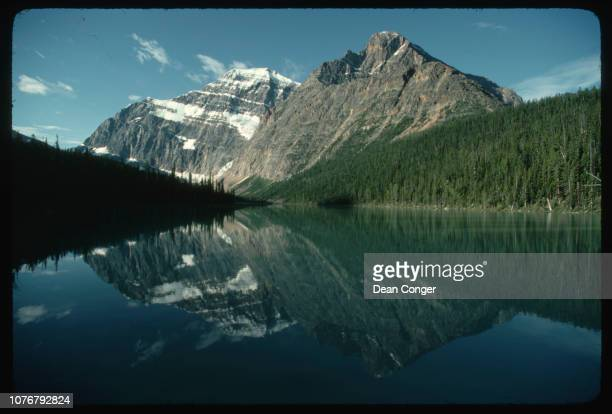 Mt Edith Cavell With Reflection in Lake Canada
