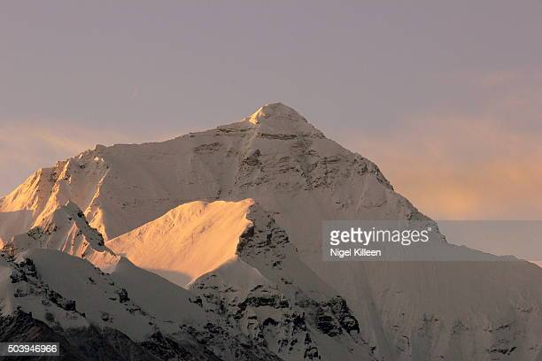 Mt Everest at dawn, Tibet