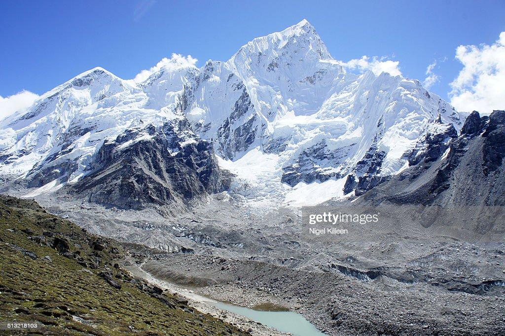Mt Everest Base Camp, Nepal : Stock Photo