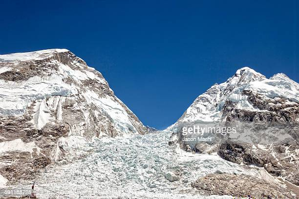 mt everest, nepal - solu khumbu stock pictures, royalty-free photos & images