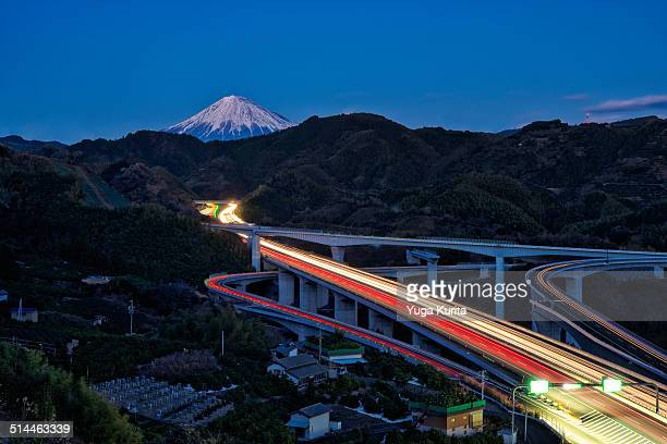 Mt. Fuji and 2nd Tomei Highway
